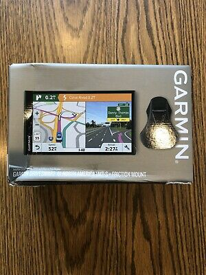 "Garmin DriveSmart 6,95"" NA Lifetime Map Touchscreen GPS Navigator New BOX DAMAGE"