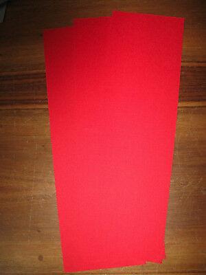 Frankonia Bucheinbandgewebe für Buchrücken ca 33,5 X 10 cm 20 Nutzen Kaliko rot