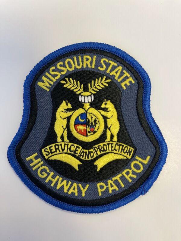 Missouri State Highway Patrol Patch police