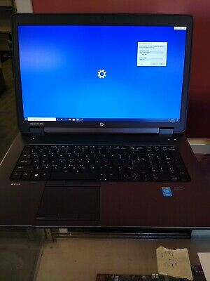 "HP ZBook 17 G2 17.3"" Laptop Intel i7-4910MQ 32GB RAM 1TB K3100M Win 10 pro!"