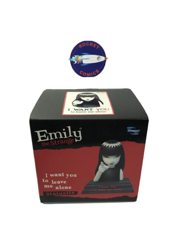 Emily the Strange I Want You Limited edition Statue - RARE