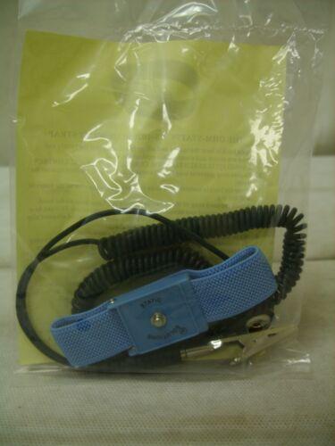 (50) OHM-STAT Static Solutions Elastic Adjustable ESD Static Control Wrist Strap