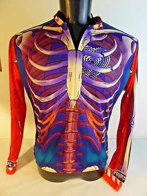 Primal Wear Bone Collector Skeleton Long Sleeve Cycling Jersey Mens Halloween - Halloween Bone Collector