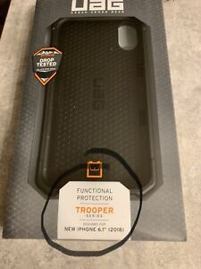 iPhone XR UAG Trooper Wallet Case Brand New