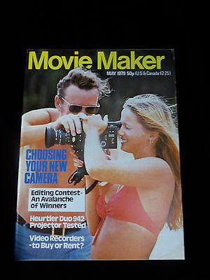 Movie Maker Magazine  May 1979  Like New