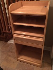Solid Maple Cabinet / bookcase
