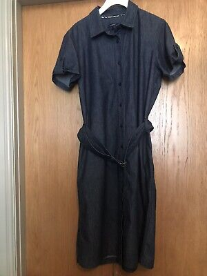 IMMACULATE!! 100% Genuine Ladies BURBERRY Short Sleeved Dress Size 16