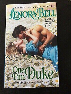 One Fine Duke School for Dukes #3  by Lenora Bell Bestselling Author -
