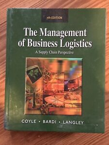 The Management of Business Logistics Textboom