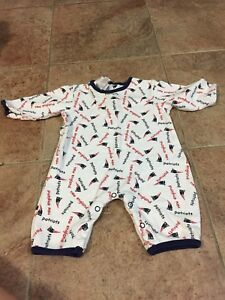 New England Patriots Baby Outfit 6-9 months