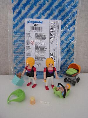 Playmobil Ergänzungen & Accessoire 6447 Enceintes et Mama avec Bébé - B-Ware