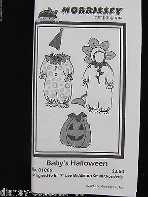 """Morrissey Pattern*17""""Lee Middleton Small Wonder Baby Doll*Halloween Costumes"""