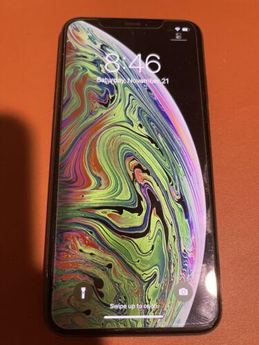 Apple Iphone Xs Max Unlocked Cracked Back 64 Gb. - $360.00