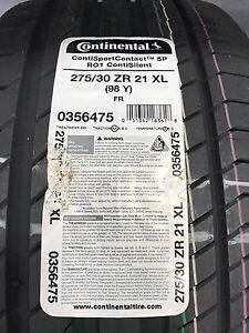 Continental ContisportContact 5P  275/30/21 (98Y)