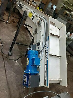 Emi Merit-line Incline Belt Conveyor Model Ddc Heavy-duty Commercial Industrial