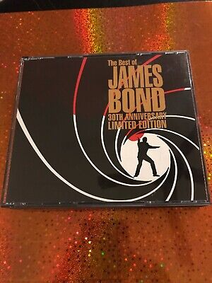The Best of James Bond 30th Anniversary by Various Artists, 2 CD Set (1992 EMI)