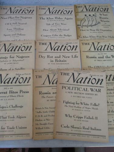 Black Americana World War 2 Era Nation Lot Jim Crow Racism BLM Harlem 1940s