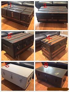 Antique Trunk Collection - Assorted Prices - Coffee Table