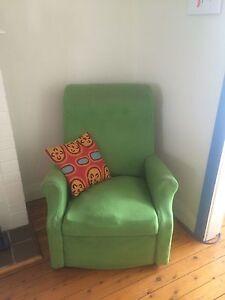 Kermit the recliner chair North Bondi Eastern Suburbs Preview