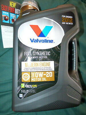 Modern Engine Anti-Wear Protection VALVOLINE 0W-20 Best Synthetic Oil - 5