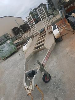 4 t allumium plant trailer