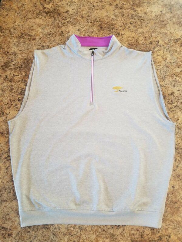 Footjoy 1/4 Zip Golf Vest Mens Size XL EUC
