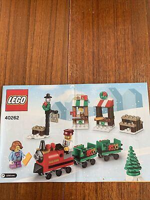 Lego 40262 Original Instruction Manual / Booklet Christmas Train Set