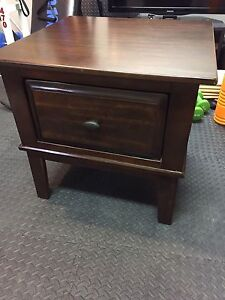 "26"" Wooden End Table, $125"