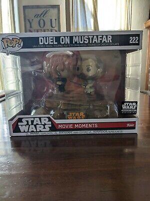 Funko POP! Star Wars Smuggler's Bounty Movie Moments Duel on Mustafar #222