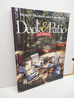 Deck & Patio Planner Guide Book Better Homes Gardens Landscaping Materials Better Homes And Gardens Deck