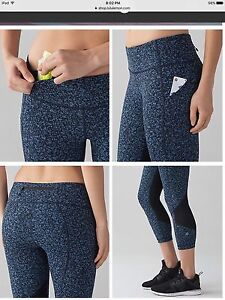 Lululemon Pace Rival Crops - NEW WITHOUT TAGS - Size 2