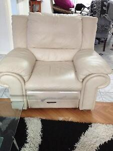 3 piece Leather Couch Sydenham Marrickville Area Preview