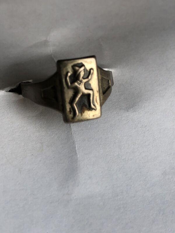 Vintage Brownie Ring