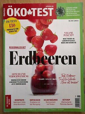 Zeitschrift Öko Test Mai 5 2020 Erdbeeren Deo Kopfkissen Ketchup Selbstbräuner
