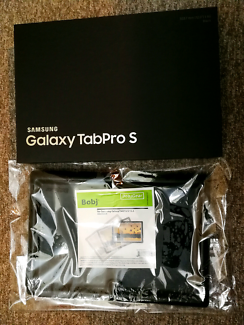 Samsung Tab Pro S 4G 128GB with BOBJGEAR HEAVY DUTY CASE