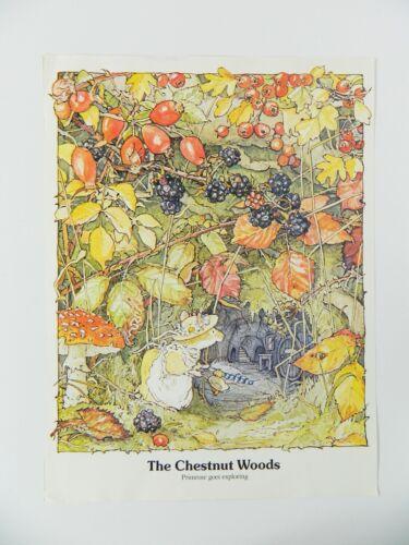 Brambly Hedge Jill Barklem Poster Art Print 16 x 12 Mice Nursery Kids Room Decor