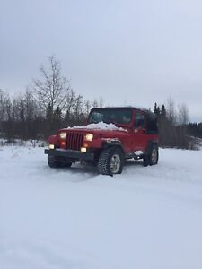 1995 Jeep Wrangler YJ Trade For Truck Or Car