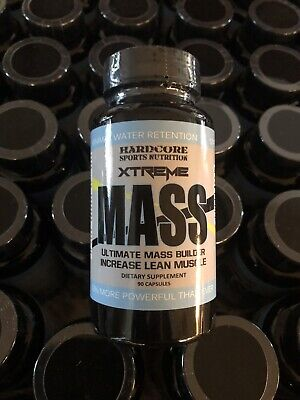 Hardcore Sports Nutrition Xtreme Mass 90 Capsules