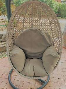 Outdoor Wicker Egg Chair Nairne Mount Barker Area Preview