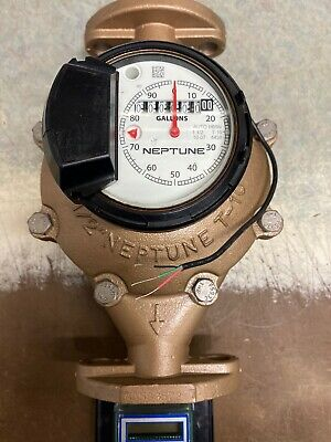 Neptune 112 T-10 Water Meter With Auto Detect Register And Digital Remote