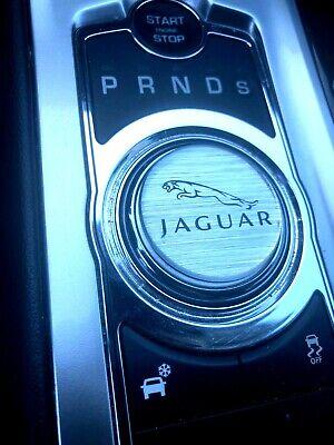 Jaguar Rotary Classic Chrome selector Gear Shift Knob Topper 09+ XE XF XJ F-Pace Chrome Gear Shift Knob
