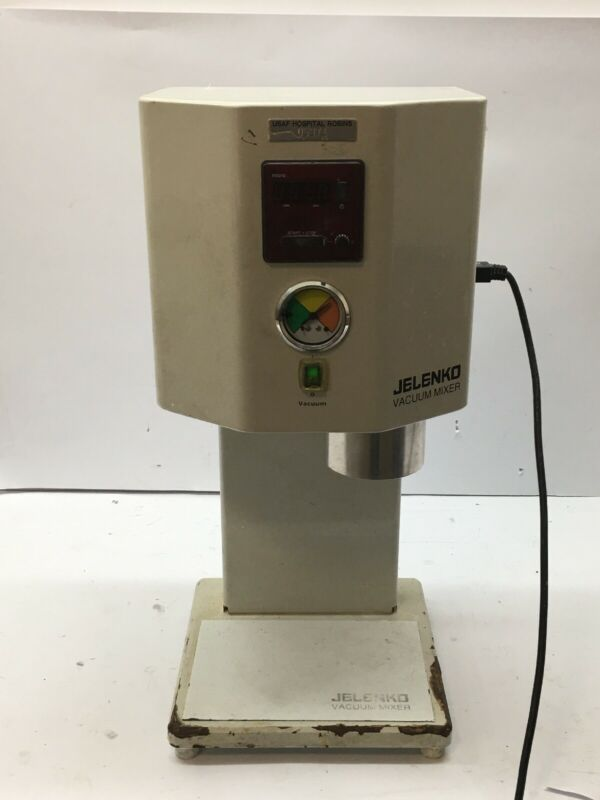 Dental Vacuum Mixer Mold Pump 300250 Jelenko 115 VAC, 350 W, 50/60 Hz