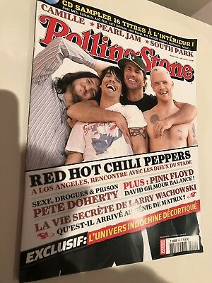 **RED HOT CHILLI PEPPERS RARE FRENCH ROLLING STONE MAGAZINE 2006**