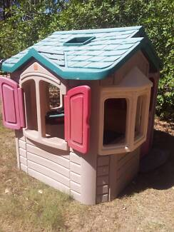 Large Step 2 Kids Plastic Cubby House Little Tikes Style