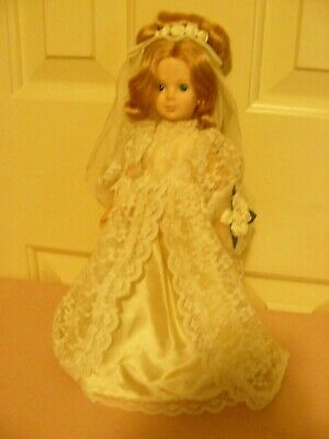 Eegee Co Bride Doll - 11 Inch 1960 s Very Nice Condition - $13.99