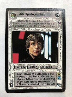 slight wear DEATH STAR II  star wars ccg swccg Home One
