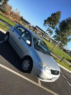 2002 Toyota Corolla ASCENT SECA Manual Hatchback Greenvale Hume Area Preview