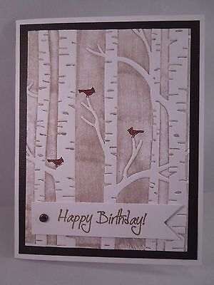 "Handmade Card~""Happy Birthday!""~Masculine~Woodland~Stampin Up"