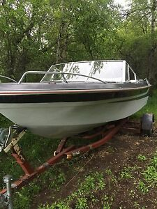 19.5 ft Star craft open bow(302 OMC) ready to go fishing