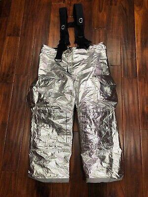 Lion Janesville Firefighter Proximity Pants Model Psdm Size 44l Turnout Gear